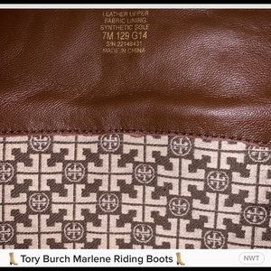 Tory Burch Shoes - Tory Burch, brown Marlene Riding boots.